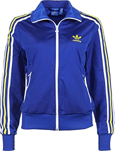 Adidas Firebird - Felpa sportiva, da donna, Blu (Collegiate Royal/fairway), 32
