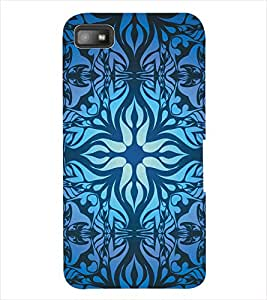 ColourCraft Pattern Back Case Cover for BLACKBERRY Z10