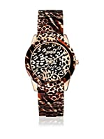Guess Reloj de cuarzo Woman Vixen W0425L3 Leopardo 38 mm