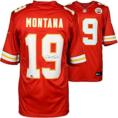 Joe Montana Kansas City Chiefs Autographed Nike Limited Jersey - Fanatics Authentic Certified - Autographed NFL Jerseys