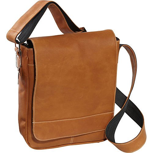 david-king-co-deluxe-medium-flap-over-messenger-tan-one-size