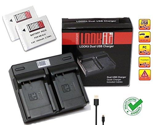 lookit-set-y-compris-duall-chargeur-2x-lookit-nb-6lh-pour-canon-sx710-canon-sx530-canon-sx610-canon-