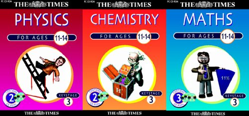 The Times Key Stage 3 Physics, Chemistry, Maths Triple Pack (Ages 11-14)