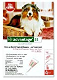 Advantage Topical Flea Treatment for Dogs 21-55 Lbs (4 Applications)