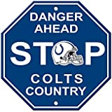 NFL Indianapolis Colts Stop Sign