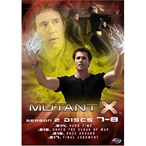 Mutant X - Season 2 Discs 3-4 movie