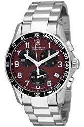 Victorinox Swiss Army Men's 241148 Classic Chronograph Red Dial Watch
