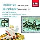 Tschaikowsky: Klavierkonzert Nr. 1 / Rachmaninow: Klavierkonzert Nr. 2