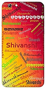 Shivanshi (A part of Shiv) Name & Sign Printed All over customize & Personalized!! Protective back cover for your Smart Phone : Samsung Galaxy E-7
