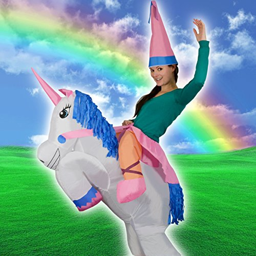 Adulte-Animal-Unicorn-gonflable-Fantasy-mythique-Blow-Up-partie-Fancy-Dress-Halloween-Costume