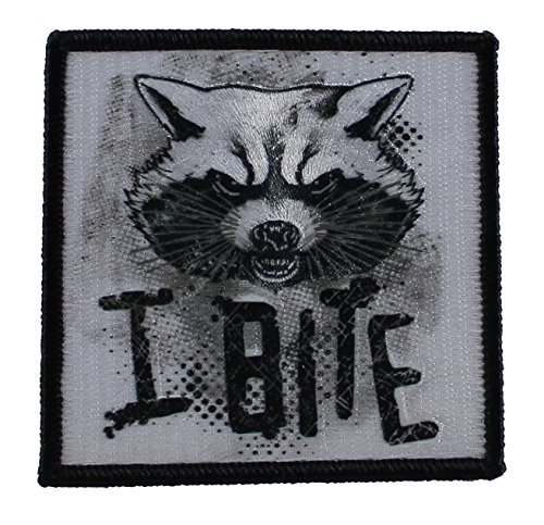 Application Marvel Guardians of The Galaxy Rocket I Bite Patch