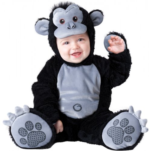 Goofy Gorilla Costume - Infant Medium front-894924