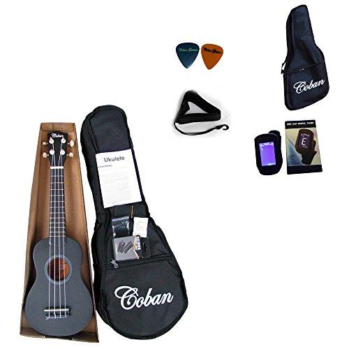 coban-ukulele-soprano-en-4-coloris-bleu-fonce-violet-noir-et-bleu-clair-comprend-10-mm-housse-rembou