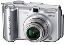 Canon PowerShot A630 8MP Digital Camera with 4x Optical Zoom