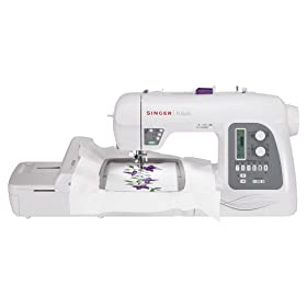SINGER Futura XL-550 Computerized Sewing and Embroidery Machine width=