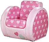 Kit for Kids SP9003 - Silla en PVC, 55 x 55 x 67 cm, color rosa