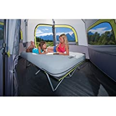 Coleman® MAX Pack-Away® Airbed Cot Queen with Battery Pump by Coleman