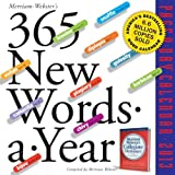 365 New Words-a-Year 2013 Page-A-Day Calendar (0761167218) by Merriam-Webster