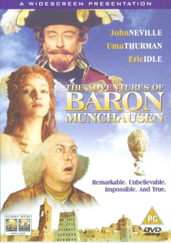 The Adventures of Baron Munchausen [DVD] [2011]