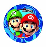 Party plates - super mario wii x 8pk