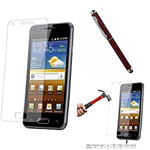 Qualitas Pack of 2 Tempered Glass for Micromax Canvas Nitro A310 + 4in1 Laser Torch Stylus Pen