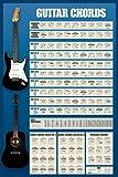 Empire 81681 Educational - Gitarren Akkorde - Musik Poster Druck - 61 x 91.5 cm