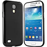 Samsung Galaxy S4 Mini H�lle - Schutzh�lle Silikonh�lle Case Cover Tasche f�r Samsung S4 Mini (Schwarz)