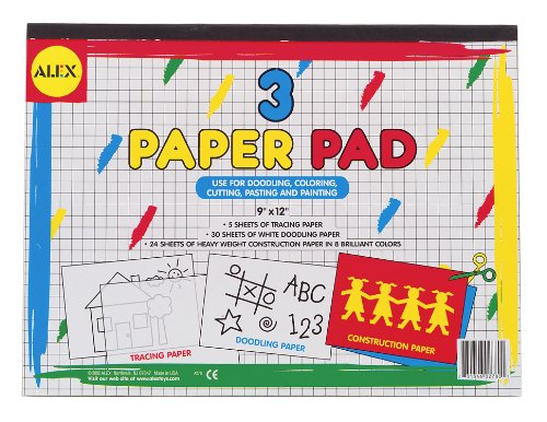 ALEX Toys Artist Studio 3 Paper Pads - 1