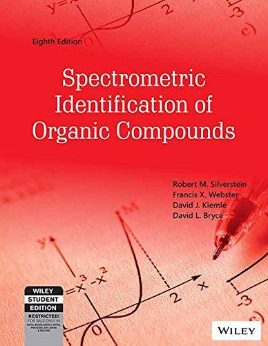 Spectrometric Identification Of Organic Compounds, 8Ed
