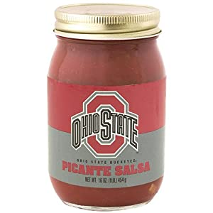 Hot Sauce Harrys Ohio State Buckeyes Picante Salsa by Hot Sauce Harry's Inc.
