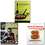 Phil Vickery Gluten-free Recipes Cookbooks Collection Set, (The Best Gluten-Free, Wheat-Free & Dairy-Free Recipes, Learn to Cook Wheat, Gluten and Dairy Free & [hardcover] Seriously Good! Gluten-free Cooking: In Association with Coeliac UK)