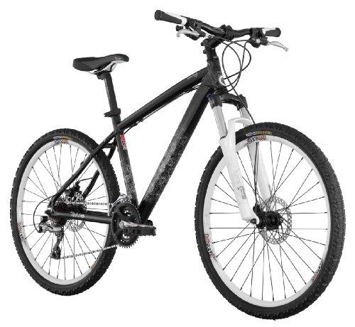 Diamondback Lux Sport Women's Mountain Bike (26-Inch Wheels), Mirror Black, Small/15-Inch