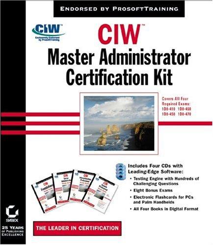 CIW: Master Administrator Certification Kit
