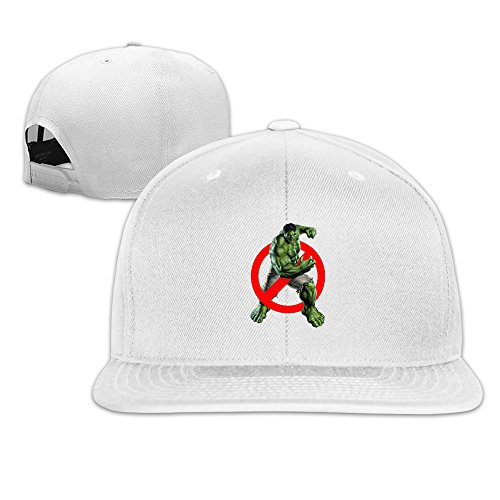 FASHION DYD Ghostbuster Hulk Fitted Flat Brim Baseball Cap Hat