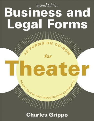 Business and Legal Forms for Theater, Secon