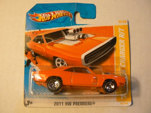 Hot Wheels 2011 Hw Premiere 42/50 '70 Dodge Charger R/T 42/244 On Short Card