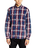 Pepe Jeans London Camisa Hombre Pal (Azul)