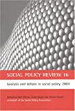img - for Social Policy Review 16 (No. 16) book / textbook / text book