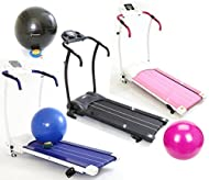 Get Gym Master Electric Treadmill Exercise Equipment -Fitness Motorised 1.5hp Home Gym + Gym Ball Price-image