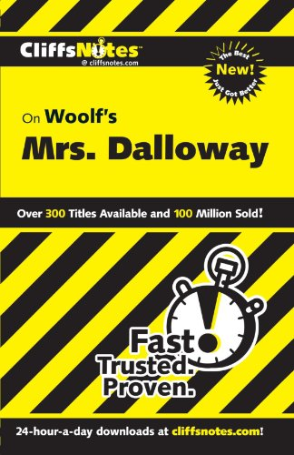 CliffsNotes on Woolf's Mrs. Dalloway (Reference (General))