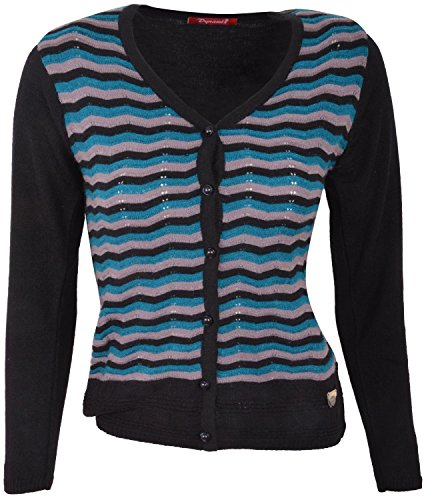 Dynamis_Women's/Ladies/Girl's_Knitwear_Acrylic_Regular fit_Buttoned_Casual_Woolen_Sweater_Cardigan