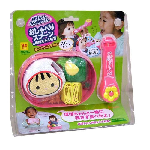 Chan Po Po lunch with your tool chatter spoon Po Po Chan (japan import)