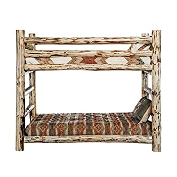 Montana Woodworks MWBBN Montana Collection Bunk Bed, Twin, Ready to Finish