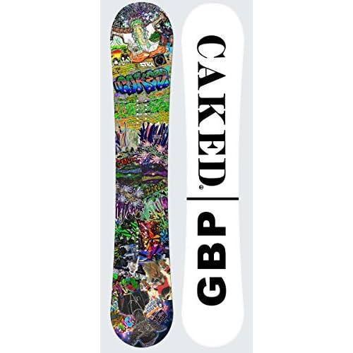 GBP 15-16モデル【ジービーピー】GBP x CAKED (CTX)コラボモデル スノーボード ダブルキャンバー (148cm)