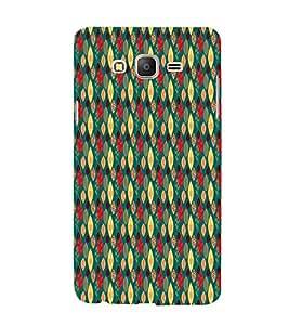 Leafs Design 3D Hard Polycarbonate Designer Back Case Cover for Samsung Galaxy On7 :: Samsung Galaxy On 7 G600FY