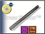 Brass Stacker GLC18 ISMI Recoil Spring for Glock Compact Frame Pistols, Black