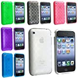  6 SOFT Crystal TPU Gel Case Skin Cover Compatible ...