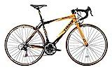 TRINX(トリンクス) 【ロードバイク】 入門用 補助ブレーキ付き Shimano21速 エントリーモデル 軽量 アルミフレーム TEMPO TEMPO ブラック/オレンジ 430mm