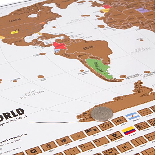 Scratch Off World Travel Tracker Map – Travel Tracker Map