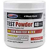 USP Labs Test Powder, Fruit Punch, 8.5 Ounce